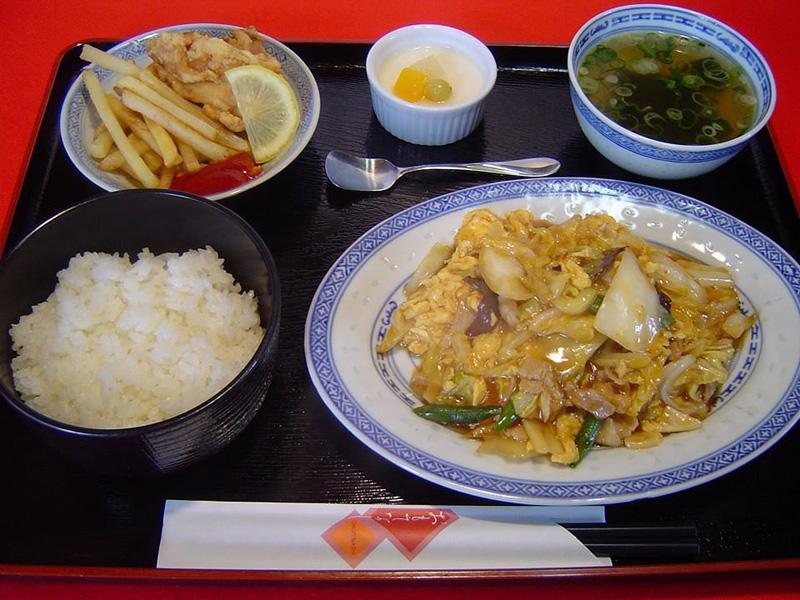 豚肉と白菜のピリ辛炒めセット